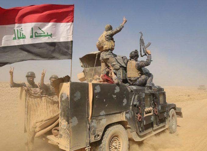 Le forze irachene a Mosul potrebbero essere la prima crisi di Trump