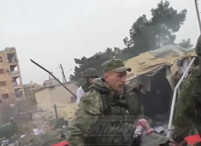 L'attacco all'ospedale militare russo di Aleppo – Le prime immagini