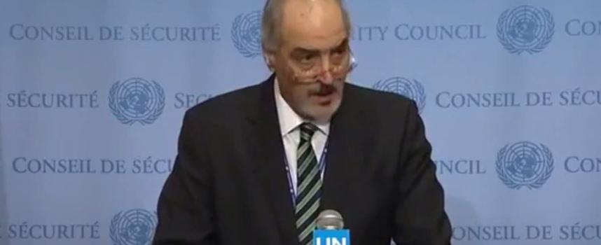 L'ambasciatore siriano fa i nomi degli agenti stranieri catturati ad Aleppo