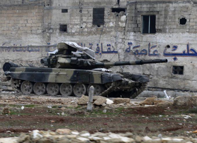 AGGIORNAMENTO DALLA SIRIA: la resistenza jihadista ad Aleppo è prossima alla sconfitta