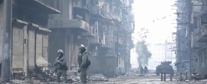 La Polizia Militare russa ad Aleppo