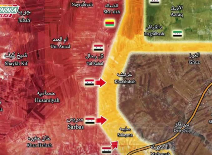Siria – La divisione Tigre all'attacco di al Bab