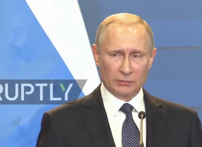 Putin parla della ripresa del conflitto in Ucraina