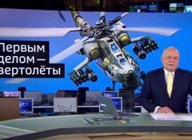 Gli elicotteri d'assalto russi Mi-28 e Ka-52