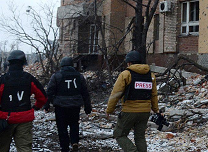 "La ""Leva Avdeevka"" di Poroshenko e lo ""Sbarco"" dei Media occidentali"