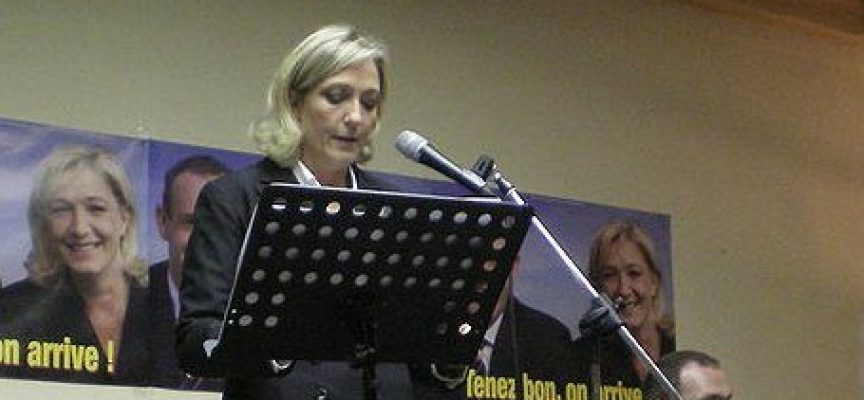 I burocrati europei vogliono uccidere Marine Le Pen senza usare armi