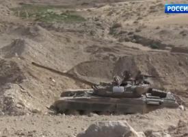 L'esercito siriano sta entrando a Palmira