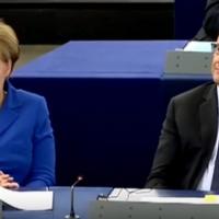 Marine Le Pen distrugge Angela Merkel