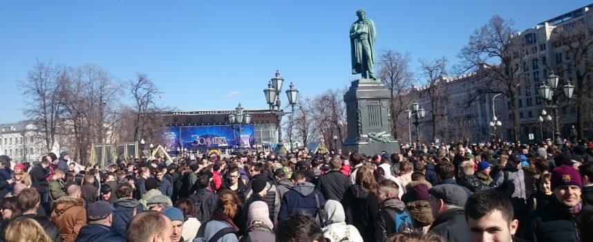 Le proteste di Mosca: il tumulto della Tverskaya