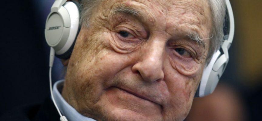 La macchina sovversiva di Soros esposta al pubblico