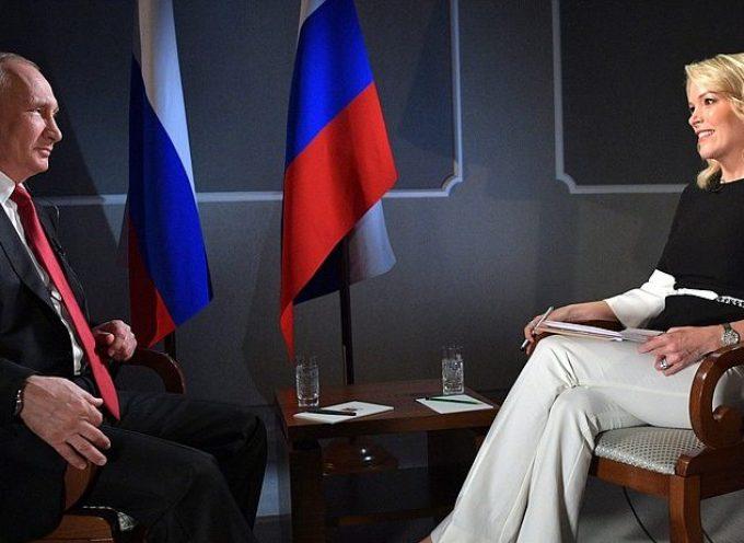 Intervista della NBC a Vladimir Putin