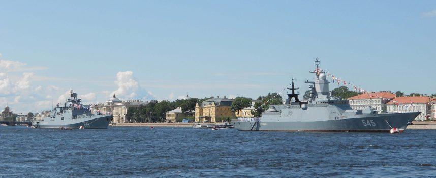 Festa della Marina Russa – Anteprima da S. Pietroburgo