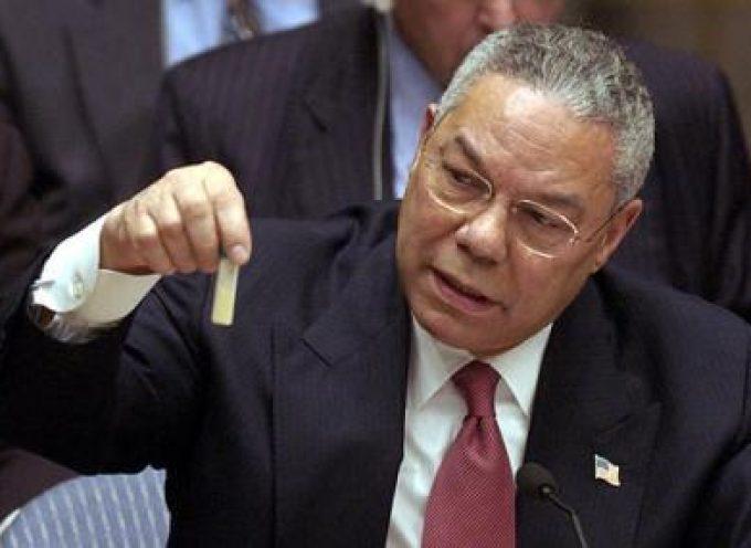 Di nuovo le armi di distruzione di massa irachene: le ultime minacce USA alla Siria