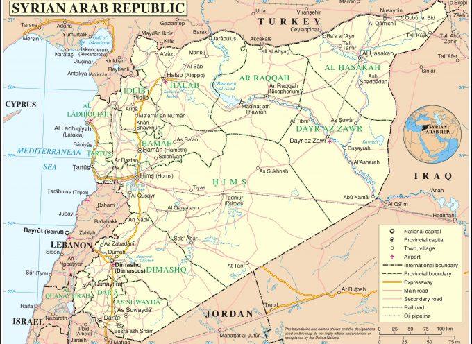 Situazione operativa sui fronti siriani del 4-8-2017