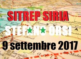 Situazione operativa sui fronti militari siriani al 9-9-2017