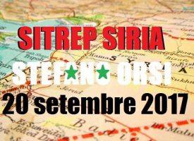 Situazione operativa sui fronti siriani del 20-9-2017