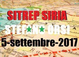 Situazione operativa sui fronti siriani del 5-9-2017
