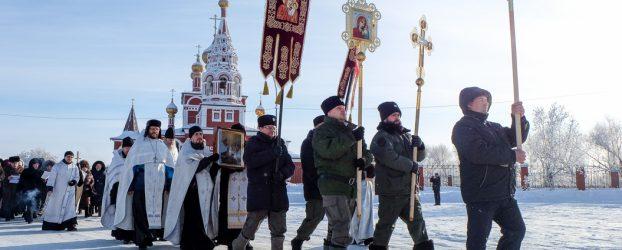 Le marce religiose sono una parte importante della cristianità russa