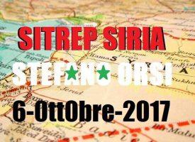 Situazione operativa sui fronti siriani del 6-10-2017