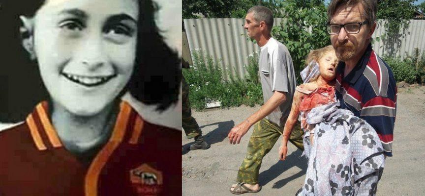 Anna Frank non è nata a Donetsk