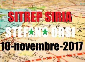 Situazione operativa sui fronti siriani e medio orientali del 10-11-2017