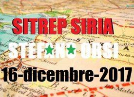 Situazione operativa sui fronti siriani del 16-12-2017