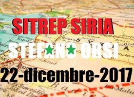 Situazione operativa sui fronti siriani del 22-12-2017
