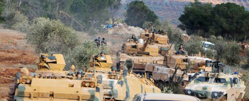 L'incursione turca su Tal el-Eis