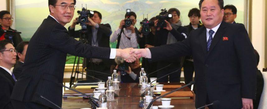 Confermate le trattative tra Nord e Sud Corea