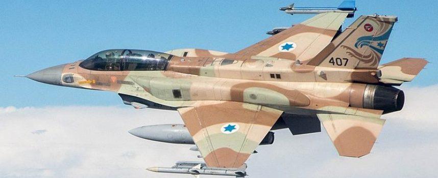 Le difese aeree siriane abbattono un F-16 israeliano