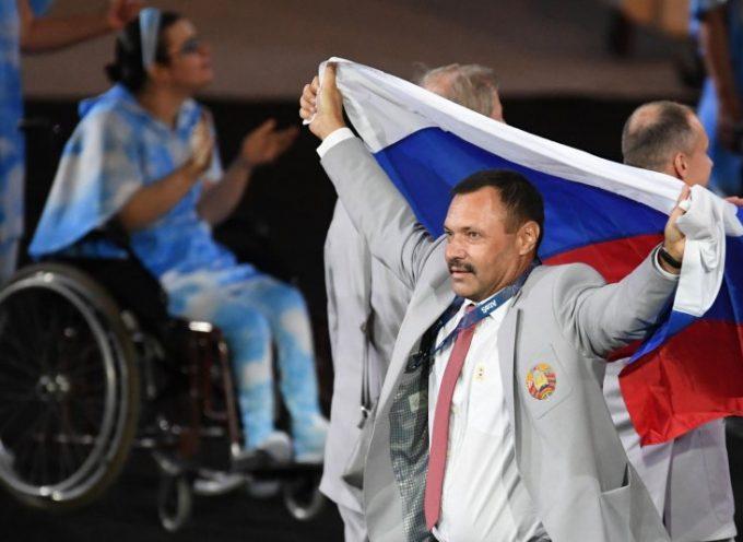 Agli atleti della Bielorussia è vietato esporre la bandiera russa alle Paralimpiadi 2018