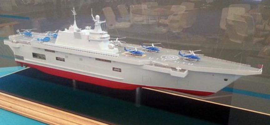 La Russia ha sviluppato la propria portaelicotteri per sostituire le Mistral francesi