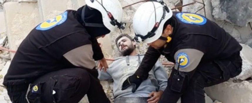 Siria: l'ultimo spettacolo dei Caschi Bianchi