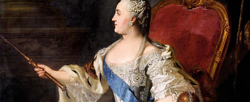 Perché l'Imperatrice Caterina la Grande invitò così tanti stranieri in Russia?
