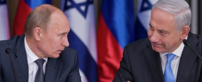 Putin, Israele e l'Il-20 abbattuto