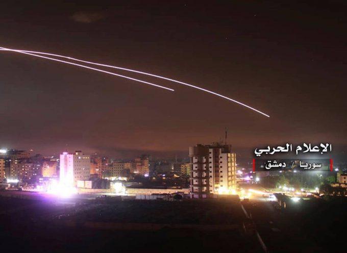 L'attacco franco-israeliano alla Siria