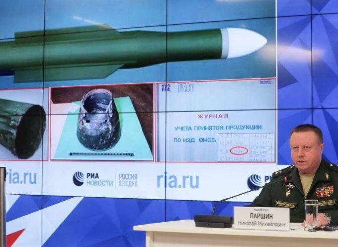 """La Russia rivela la """"pistola fumante"""" dell'MH17"""