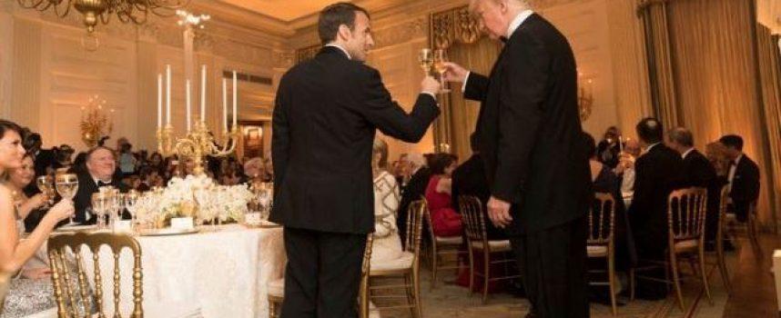 L'immagine dell'immacolato Macron sporcata dallo scandalo della guardia del corpo violenta.
