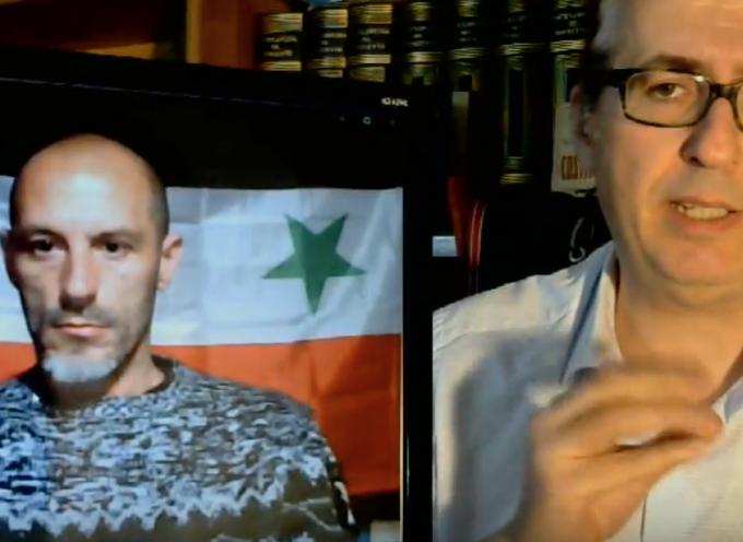 Francesco Votta racconta a Stefano Orsi il suo viaggio in Siria  (1 di 3)