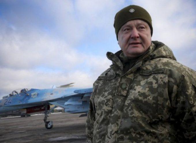Il coraggioso Poroshenko: più va male per lui, più pericoloso diventa per gli altri
