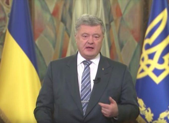Poroshenko: l'autocefalia riguarda la sicurezza nazionale, non la Chiesa
