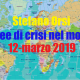 Aree di crisi nel mondo del 12-3-2019