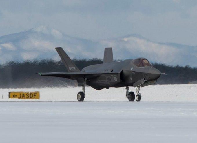 """La """"maledizione dell'F-35"""": un altro F-35 si è schiantato durante una missione d'addestramento, stavolta in Giappone"""