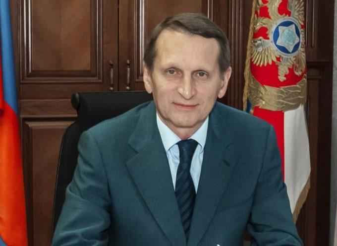 """""""Progettare un futuro globale senza l'Occidente."""" Il direttore dei Servizi esteri russo alla Conferenza Internazionale di Mosca 2019"""