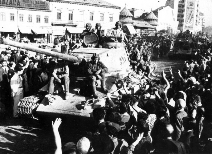 Grazie Russia per aver vinto la Seconda Guerra Mondiale