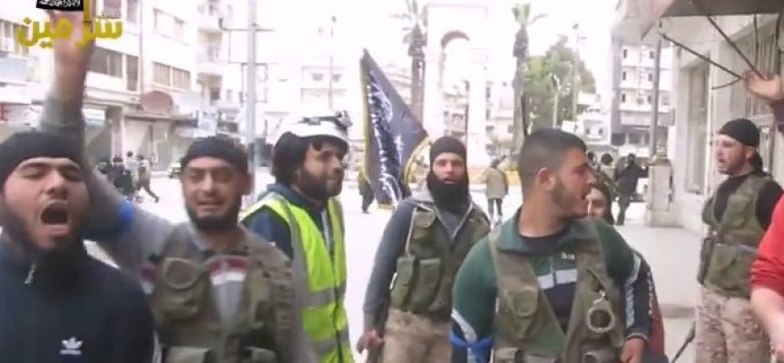 I terroristi di Israele: gli Elmetti Bianchi ricevono un premio