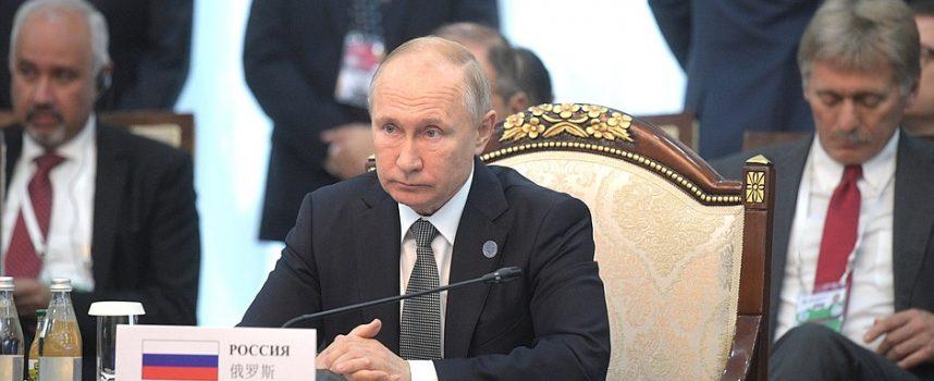 Discorso di Putin alla Organizzazione per la Cooperazione di Shanghai