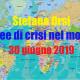 Aree di crisi nel mondo del 30-6-2019