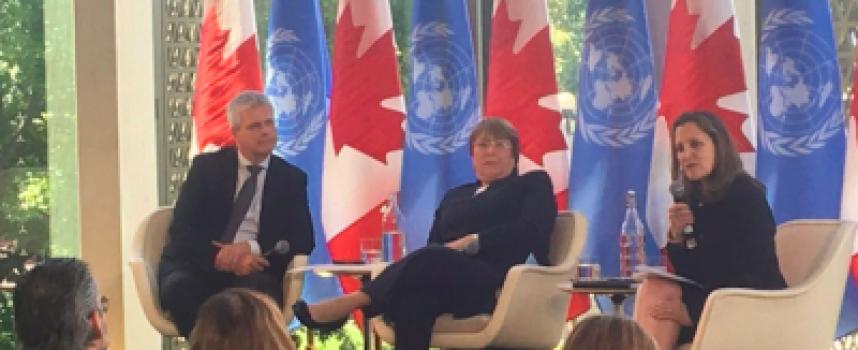 """I neoliberali canadesi usano i """"diritti umani"""" per arrivare ad un colpo di stato in Venezuela"""
