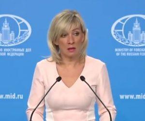 Maria Zakharova bacchetta i Polacchi e li definisce ipocriti globali